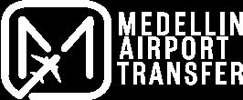 Medellin Airport Transfer white logo