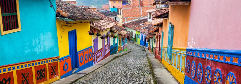 Colourful Pueblo