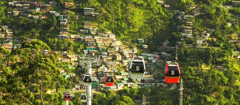 Metrocable, Medellin