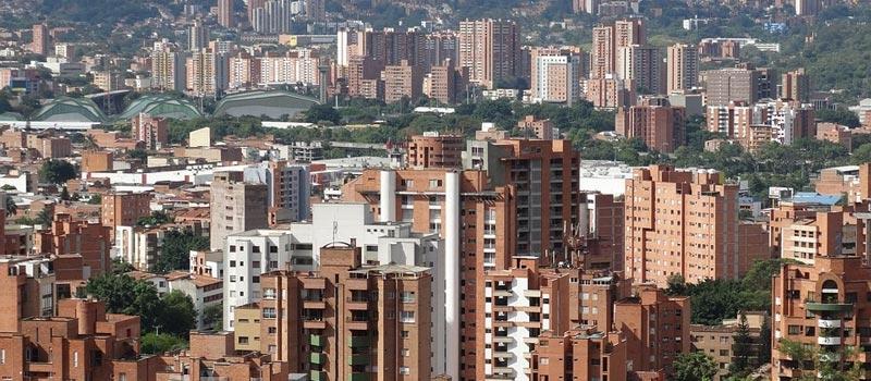 Neighbourhoods in Medellin